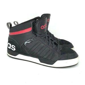 Adidas Mens Neo Label Black Baseball Shoes Size 8